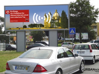Outdoor Vodafone
